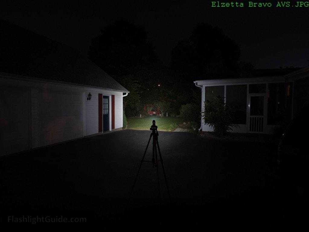 Elzetta Bravo Neutral-Tint Soft-Edge Beam