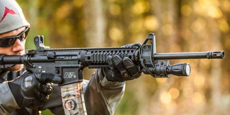 ZFH1500 Flashlight Mount for AR15, M16, M4 rifles